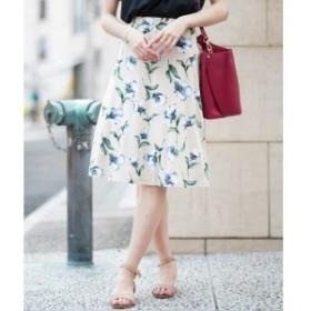 オフオン(OFUON)/【洗濯機で洗える】カットフレアスカート