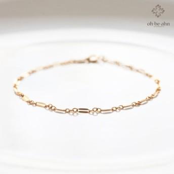 14KGF Lace Chain Bracelet - レースチェーン ブレスレット・アンクレット
