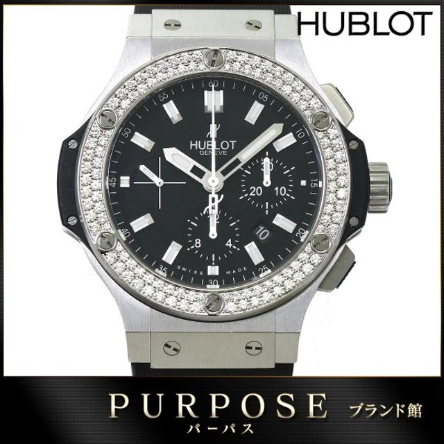436b1b54bd ウブロ HUBLOT ビッグバン エボリューション 301 SX 1170 RX 1104 純正ダイヤベゼル メンズ 腕時計 クロノグラフ
