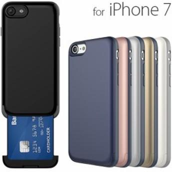 iPhone7 ケース カバー NINE O'Clock Card Slot case (ナインオクロック カードスロットケース)アイフォン スロット式カード収納