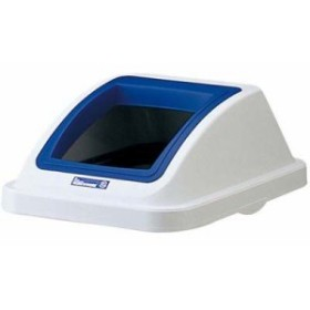 EBM-0599200 カラー分類ボックス45L フタ オープン用 ブルー (EBM0599200)