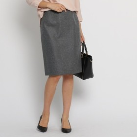 [マルイ]【セール】Lスカート([L]ネップツイルタイトスカート)/インディヴィ(INDIVI)