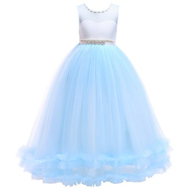 0629fb6fd92b3 子供ドレス ピアノ発表会 女の子ワンピース 子どもフォーマルドレス 誕生日 コンクール衣装 結婚式