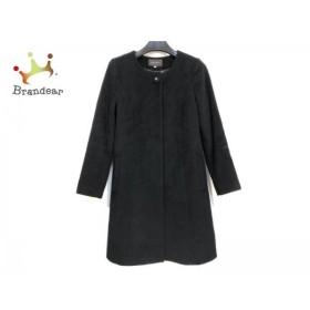 ジャスグリッティー JUSGLITTY コート サイズ1 S レディース 黒 冬物/ビジュー     スペシャル特価 20190918