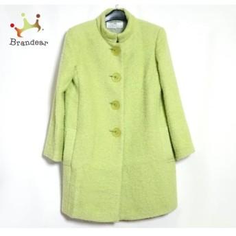 バレンシアガライセンス コート サイズ38 M レディース 美品 ライトグリーン 肩パッド/冬物 スペシャル特価 20190913