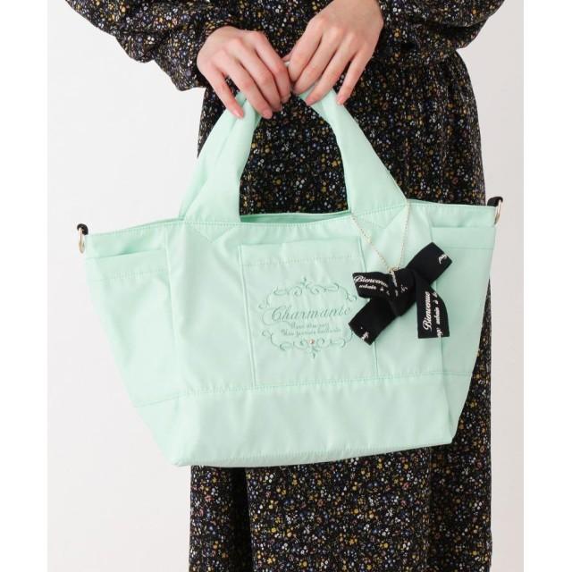 passage mignon(パサージュ ミニョン) ◆2WAY リボンチャーム付き 軽量 バッグ