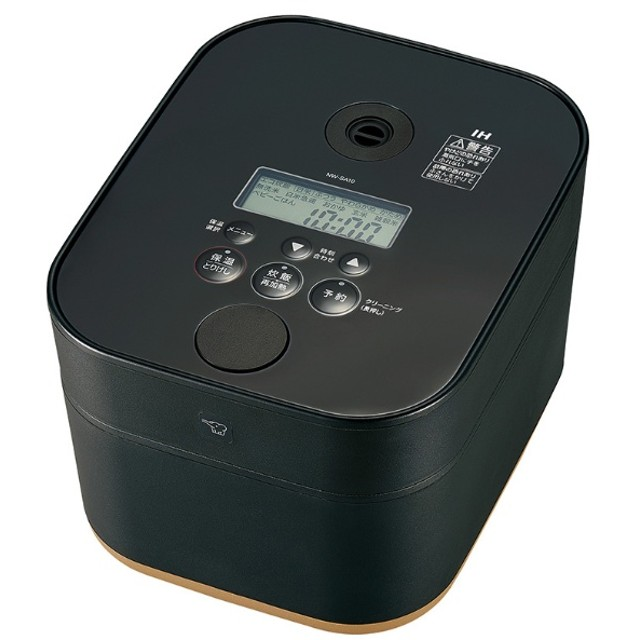 NW-SA10-BA 炊飯器 STAN. ブラック [5.5合 /IH]