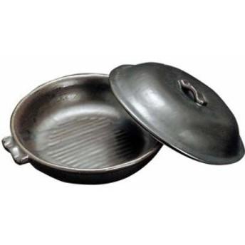 EBM-7042600 陶板鍋 黒 T-27 (EBM7042600)