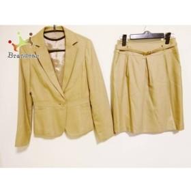 ノーリーズ NOLLEY'S スカートスーツ サイズ38 M レディース ライトブラウン   スペシャル特価 20190417