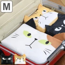 トラベルポーチ 収納バッグ M ネコ ( 収納バッグ バッグインバッグ インナーバッグ 旅行ポーチ ねこ 猫 かわいい 大きい 大 旅行 衣類