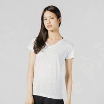 ヘインズ レディース 半袖アンダーシャツ 2P JapanFit for HER VネックTシャツ (HW5115 010) Hanes