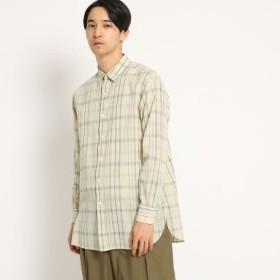 [マルイ]【セール】【洗える】コットンリネンマドラスチェックシャツ/ドレステリア(メンズ)(DRESSTERIOR Mens)