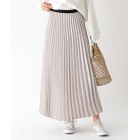 aquagirl / アクアガール パッチワークフラワープリーツスカート