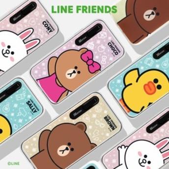iPhone XS / X / iPhone XS Max / XR ケース LINE FRIENDS LIGHT UP CASE ベーシック 光る