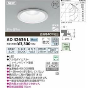 コイズミ AD42636L LED防雨防湿ダウン