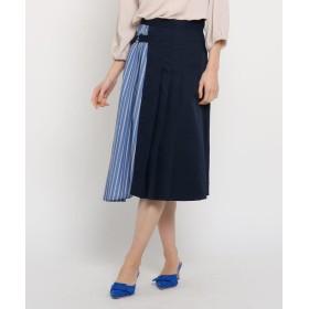AG by aquagirl(エージー バイ アクアガール) チノ異素材ドッキングスカート
