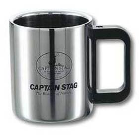 キャプテンスタッグ カップ マレー ダブルステンマグカップ310ml