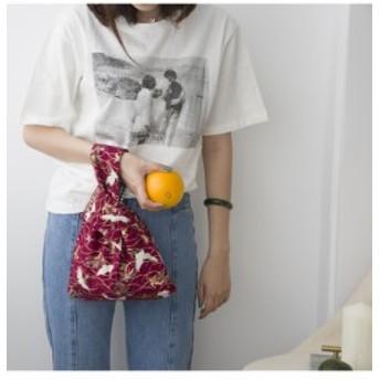 バッグ レディース ハンドバッグ ミニバッグ かばん ミニ 和式 鶴柄 可愛い