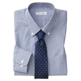 抗菌防臭。形態安定長袖ワイシャツ(ボタンダウン)(標準シルエット) 大きいサイズメンズ (ワイシャツ)