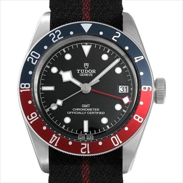 9370053de6 48回払いまで無金利 チューダー ヘリテージ ブラックベイ GMT 79830RB 新品 メンズ 腕時計