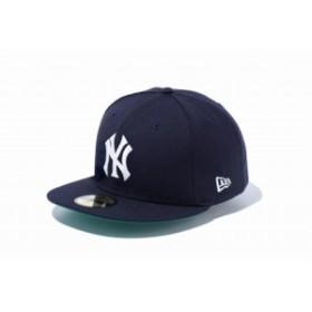 訳あり大特価!1点限り!ニューエラ(NEW ERA) 59FIFTY CT ニューヨーク・ヤンキース1 ネイビー 11596347(11)