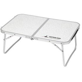キャプテンスタッグ アウトドアテーブル ラフォーレ アルミ薄型FDテーブル 60×40cm