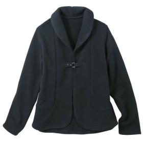 裏起毛ニットソージャケット(オトナスマイル) (大きいサイズレディース)ジャケット