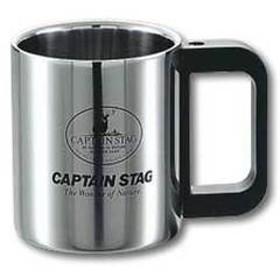 キャプテンスタッグ カップ マレー ダブルステンマグカップ220ml