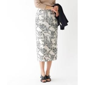 aquagirl / アクアガール フラワージャガードスカート