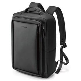 バジェックス ローレル デイバッグ 前胴ファスナーポケット付 ブラック 13-6073 メンズバッグ ビジネスバック 代引不可
