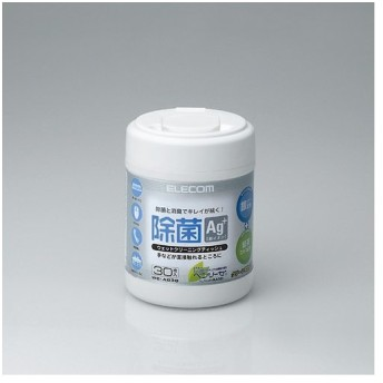 ELECOM エレコム 除菌用ウェットティッシュ 30枚 WCAG30 (2192445) 送料区分B