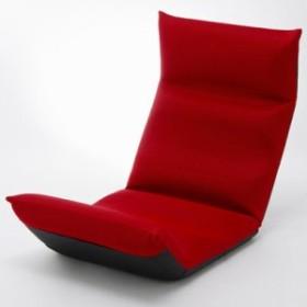 セルタン 【送料無料】10097-002 「和楽の雲LIGHT」 日本製座椅子 リクライニング付きチェアー A448(レッド/1722)【沖縄・離島配達不可】