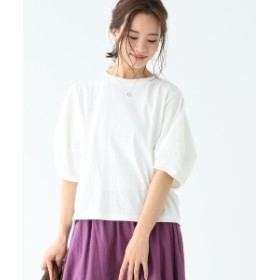 B:MING by BEAMS / 度詰天竺 ワイドスリーブ Tシャツ 19SS レディース Tシャツ WHITE ONE SIZE