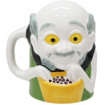 妖怪 マグカップ 磁器製マグ 小豆洗い 面白雑貨 グッズ