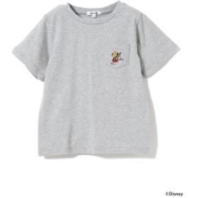 B:MING by BEAMS / Disney ミッキー HIKE Tシャツ 19SS キッズ Tシャツ T.GREY 90