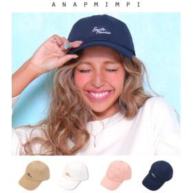 【セール開催中】ANAP(アナップ)Santamonica刺繍キャップ