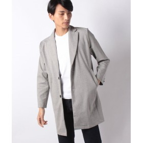 【10%OFF】 マルカワ カット素材 チェスターコート メンズ ライトグレー M 【MARUKAWA】 【セール開催中】