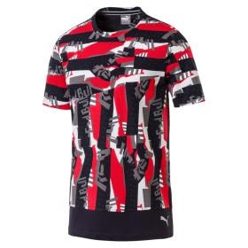 【プーマ公式通販】 プーマ RED BULL RACING ライフ AOP Tシャツ メンズ Chinese Red  CLOTHING PUMA.com