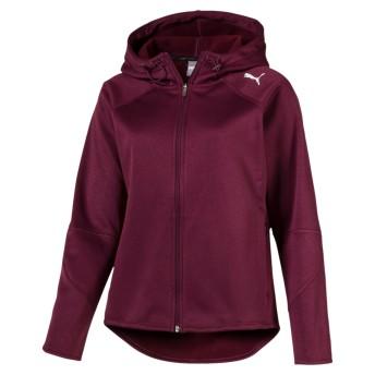 【プーマ公式通販】 プーマ EVOSTRIPE フーデッドジャケット ウィメンズ Fig  CLOTHING PUMA.com
