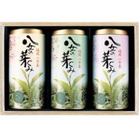 三盛物産 ASK-100 八女茶詰合せ [玉露100g、煎茶神緑100g×2] (ASK100)