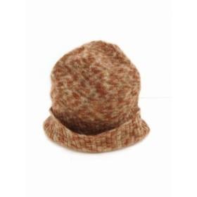 【中古】ヴィヴィアンウエストウッド Vivienne Westwood 国内正規品 帽子 ニット帽 ニットキャップ 1 ブラウン 茶