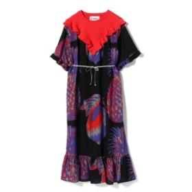 NOMA t.d. / Fresh ロングドレス レディース ワンピース BLACK/ORANGE ONE SIZE