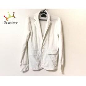 ヴァンキッシュ VANQUISH ジャケット サイズS メンズ 白 パイル  値下げ 20190902【人気】