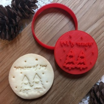 クリスマス☆Winter of joy☆ クッキー型・クッキーカッター