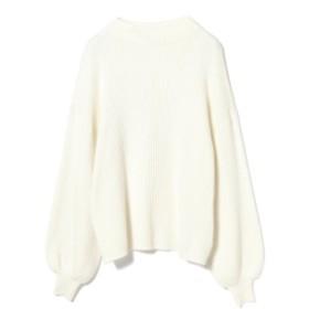 B:MING by BEAMS / リブモックネックプルオーバー レディース ニット・セーター OFF WHT ONE SIZE