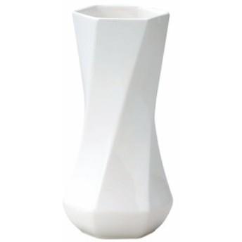 GREENHOUSE モノクロームフラワーベース 花器 005-C-W ホワイト