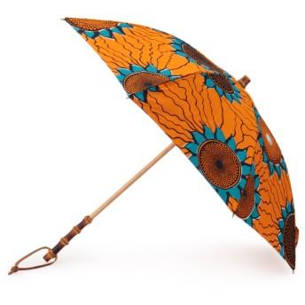 BonBonStore アフリカンバティック長傘 傘・日傘,サンフラワー