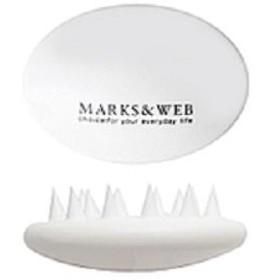 MARKS&WEB スカルプマッサージブラシ ホワイト