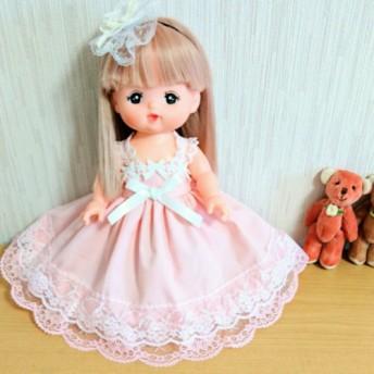 ピンクドレス メルちゃん服 ソランちゃん服 2点セット