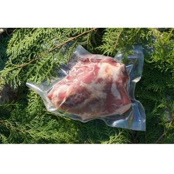 猪 モモ肉ブロック 300g ゆすはらジビエの里 高知県 梼原 ジビエ イノシシ シカ 精肉|90799|